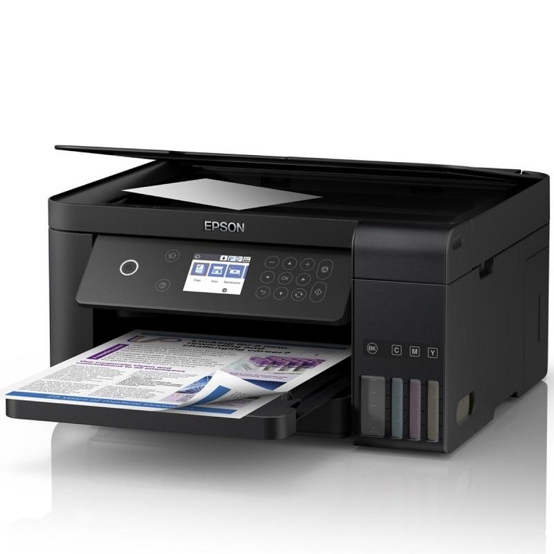 Epson EcoTank L6160 Ink Tank Printer A4 Multi-Function Colour Inkjet for  Office