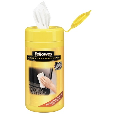 Fellowes Screen Cleaning Wipes - 100ct (F9970301)