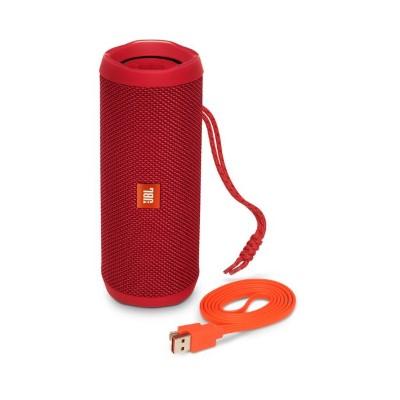 JBL Flip 4 Bluetooth Speaker (Red)