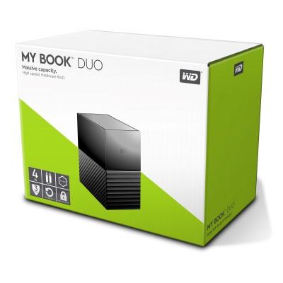 WD My Book Duo 4TB Desktop RAID External HardDrive