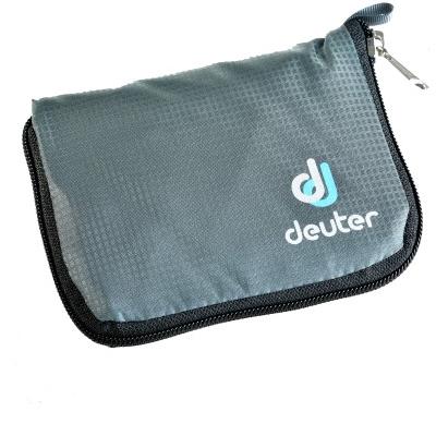 kijk uit voor mode stijl gratis verzending Deuter Zip Wallet (Granite)