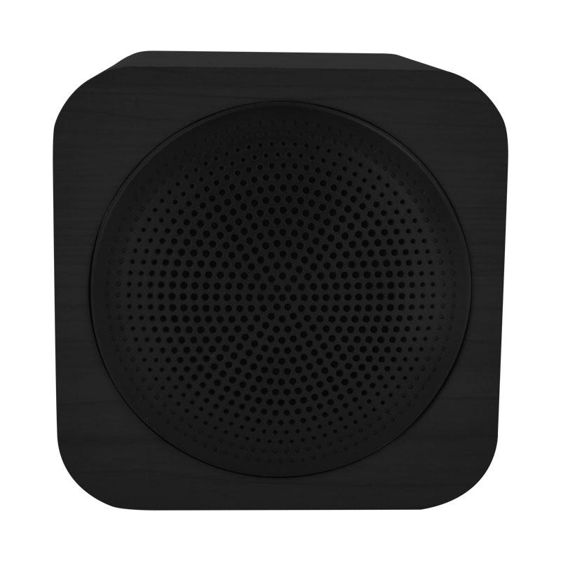 Valore Cube Wooden Wireless Speaker Bts09 Black