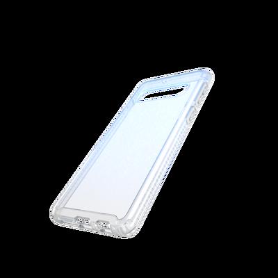 official photos e7840 725f6 Tech21 Galaxy S10 Pure Shimmer Case (Blue)