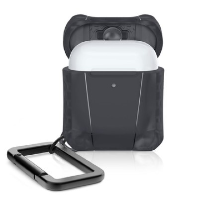 ITSKINS Spectrum Frost Case For AirPods 1 & 2 (Black)