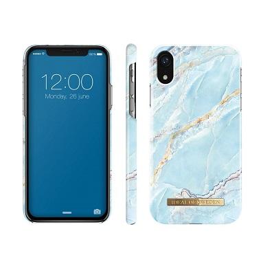 super popular bb31e 5d7de iDeal Of Sweden iPhone XR Island Paradise Marble