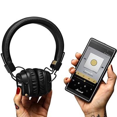 7764b2389733 Marshall Major II Bluetooth Headphones (Black). Fulfilled by  Challenger.  Standard Shipping