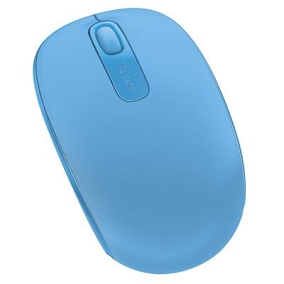 75453d018d5 Computer Accessories   Mice   Microsoft Wireless Mobile Mouse 1850 (Cyan  Blue) - Hachi.tech