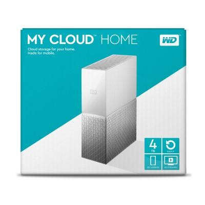 WD My Cloud Home 4TB Personal Cloud Storage