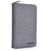 Agva LTB328 RFID Passport Holder (Grey)