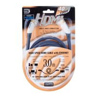 Daiyo 3.0M 4K Curve Angle HDMI Cable Ethernet (TA5683)