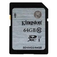 Kingston SD card 64GB Class 10 (SD10VG2/64GBFR)