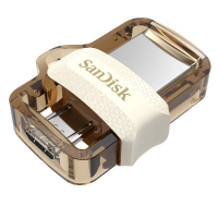SanDisk Ultra Dual Drive m3 [Gold Edition] USB 3.0 64GB