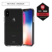 Redmonster iPhone X RETHINK ARMOUR Tech Case (Ice Black)