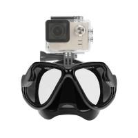 PLG RH351 Diving Mask For Gopro Hero5/4/3+/3/2/1 (Black)