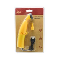 PLG USB Vacuum Cleaner (Yellow)