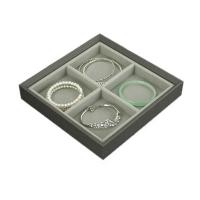 Agva Square Jewellery Tray (4 compartment)