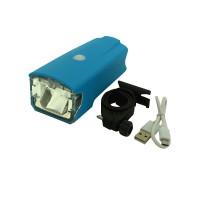 PLG RH357  Bicycle Charging Headlight (Blue)