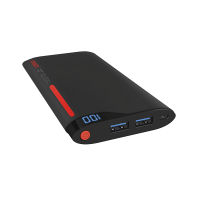 Cygnett CY1773PBCHE ChargeUp Power Bank 10000mAh (Red/Grey)