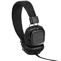 Marshall Major II Headphones w Mic (Pitch Black) (Android Version)