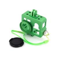 PRS GP255 CNC Al Case For GoPros4/3+/3 (Green)
