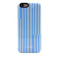 VALORE VL-PB209 Pinstripe Series: 3000mAh Power Case Made for iPhone 6 (Blue)