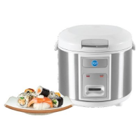707 1-RC182-SL 1.8L Deluxe Stainless Steel Rice Cooker