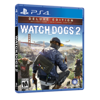 PS4 Watch Dog 2 Deluxe Edition PLAS-07085-A (M18)