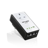 TP-LINK TL-WPA4230P AV500 Passthrough Powerline WiFi Extend