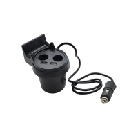 BOS HOCO UC207 Cup Shape Car Charger (Black)