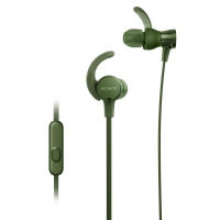 Sony MDR-XB510AS Sports Earphones + Mic (Green)