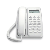 Philips CRD150 Corded Phone (White)