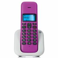 Motorola Single Dect Phone (T301) (Violet)