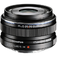Olympus Lens (17mm F1.8 Lens) (Black)