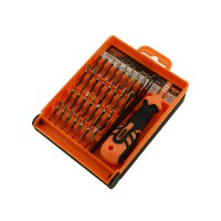 PRS JM-8100 Interchangeable Precise 32 in 1 Manual Tool Kit (Orange)