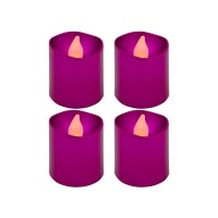 PRS UWFD-1019 LED Electric Candle Light (Purple)