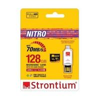 Strontium 128GB microSD Nitro 466X USH-1 OTG (SRN128GTFU1T)