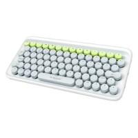 Elysium DOT Keyboard (White Grey Green)