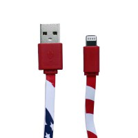 PLG LC-11 8Pin Charging Cable 1m (Red)