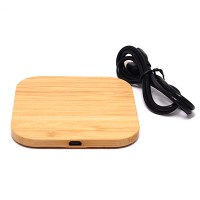 PRS 916 Wireless Charger Wooden (Square)