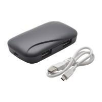 PRS UH-02 USB Hub 2.0 (Black)