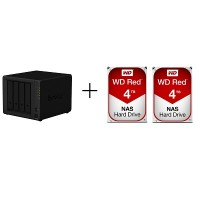 Synology SYNO-WD DS918+ + WD RED [4TB x 2]