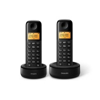 Philips Cordless Phone-Simply Call Duo (D1302B)
