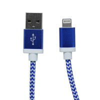 PLG LC-15 8Pin Charging Cable 1m (Blue)
