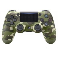 SONY DUALSHOCK4 PS4 Wireless Controller - Green Camouflage (CUH-ZCT2G)