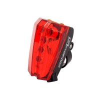 PLG H-006 LED Sports Bicycle Taillight with Laser (Red)