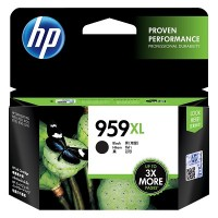 HP 959XL High Yield Black Original Ink Cartridge (L0R42AA)