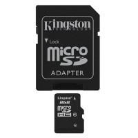 Kingston microSDHC 8GB Class 10 (SDC10G2/8GBFR)