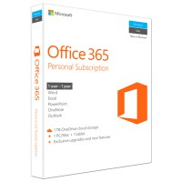Microsoft Office 365 Personal for Mac & Windows (1-year subscription)