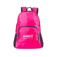 Romix Collapsible Backpack (Rose Red)