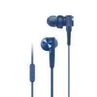 Sony MDR-XB55AP Earphones + Mic (Blue)